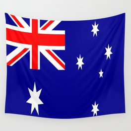 The Flag of Australia Wall Tapestry