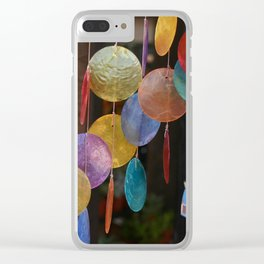 Chimes of many colors Clear iPhone Case