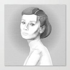 AudreyHepburn Canvas Print