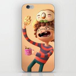 Rowlet likes cookies iPhone Skin
