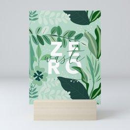 Zero Waste Mini Art Print