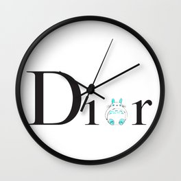 TOTOREO D. (WHITE) Wall Clock