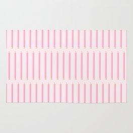 PENCILS ((pink)) Rug