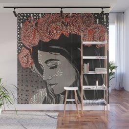 Rose crown Wall Mural