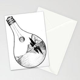 Lightbulb Landscape Stationery Cards