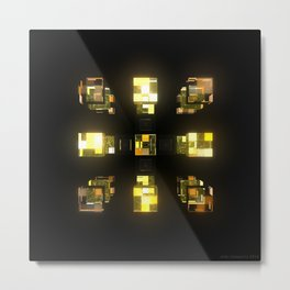 My Cubed Mind: Frame 141 Metal Print