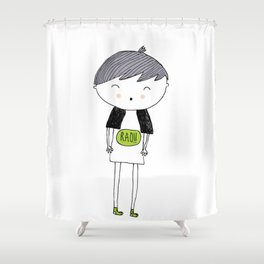 Rad by LAMM Shower Curtain