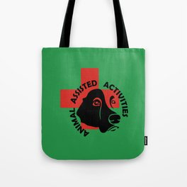 Animal Assisted Activities  - THERAPY DOG logo 7 Tote Bag
