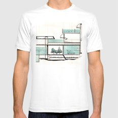 octopus architecture MEDIUM Mens Fitted Tee White