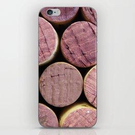 Red Wine Corks 5 iPhone Skin