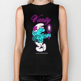 Hipster Vanity Smurf Biker Tank