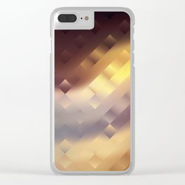In anticipation of the sunset Clear iPhone Case