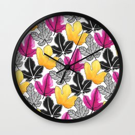 The Fig tropical Wall Clock