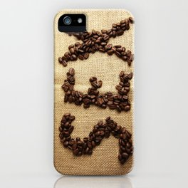 SEX - Coffee beans iPhone Case