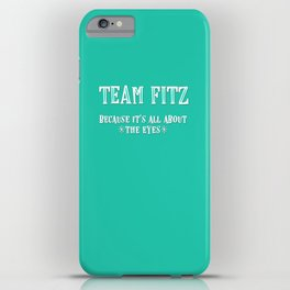 Team Fitz iPhone Case