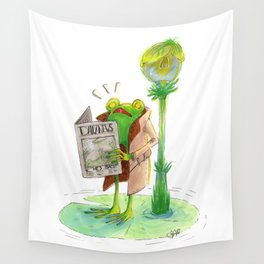 Dangerous Times Ahead Wall Tapestry