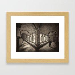 Exploring Cloisters Framed Art Print