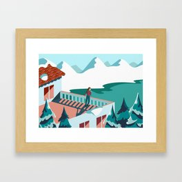 Magnificent Loneliness Framed Art Print