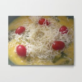 Birth Of An Omelette Metal Print