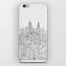 Winter in New York iPhone Skin