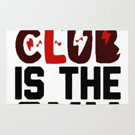MY FAVORITE DANCE CLUB IS THE GYM T-SHIRT Rug
