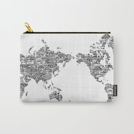 Passport Stamp Map 1 Carry-All Pouch