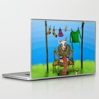 sheep Laptop & iPad Skins featuring Sheep by Anna Shell
