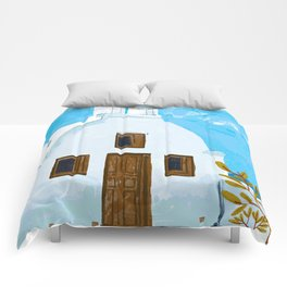 When in Greece Comforters