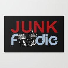 I HEART Junk Food Canvas Print