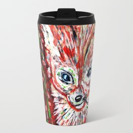 Fennec the Abstract Travel Mug
