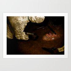 Scene/Unseen Art Print