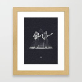 Roger & David Framed Art Print