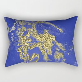 Orencyel : where gold spread in the sky let the message sink in Rectangular Pillow