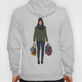 christmas shopping Hoody