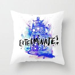 Doctor Who Dalek Throw Pillow