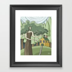 Tree Spirit Framed Art Print