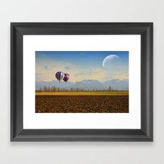 Surreal September Framed Art Print