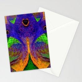 Internal Kaleidoscopic Daze- 12 Stationery Cards