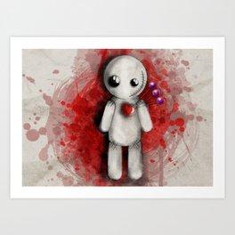Halloween Theme [Voodoo Doll] Art Print