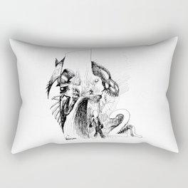 Mirror Las Vegas Rectangular Pillow