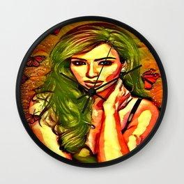 Beauty Of Kim Wall Clock