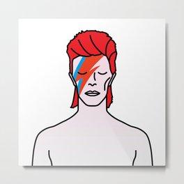 David Bowie – Aladdin Sane Metal Print
