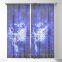 Galaxy #4 Sheer Curtain