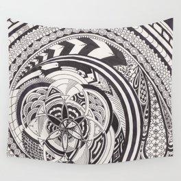 Fibonacci Effect Wall Tapestry