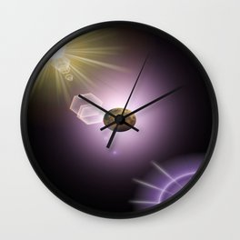 Off World Two. Wall Clock