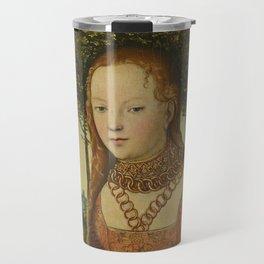 Cranach Madonna and Christ Child Travel Mug