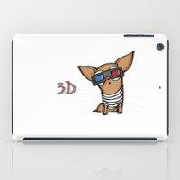 3d iPad Cases featuring 3D by Susana Miranda ilustración