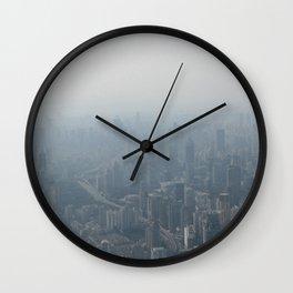 fade to gray (Shanghai) Wall Clock