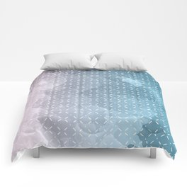 Geometric Aquarelle Comforters