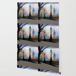 London Embankment Wallpaper